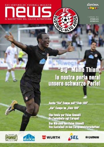 unsere schwarze Perle! - FC Südtirol