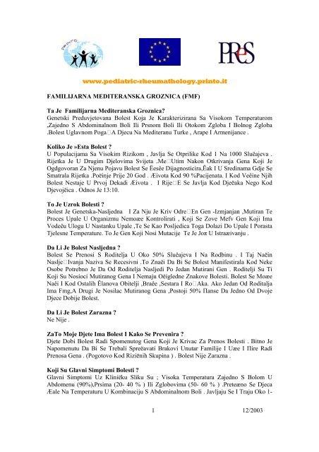www.pediatric-rheumathology.printo.it 12/2003 1 FAMILIJARNA ...
