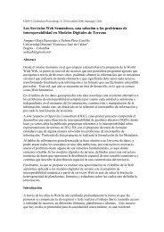 Los Servicios Web Semánticos, una solución a los ... - Gsdidocs.org