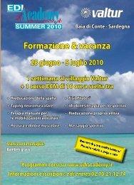 Formazione & vacanza - Sport Medicina