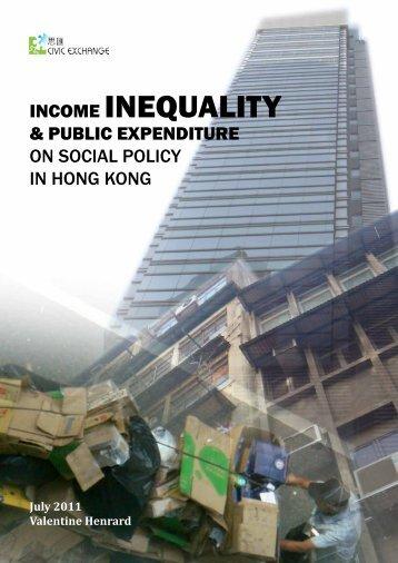 INCOME INEQUALITY - Civic Exchange