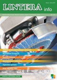 Parsisiųsti žurnalą .pdf formate (7,8 Mb) - Lintera.info