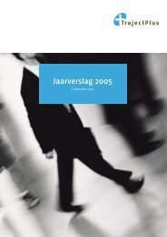 Download het jaarverslag 2005 - TrajectPlus