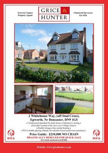 Epworth, Nr Doncaster, DN9 1GS - Grice & Hunter
