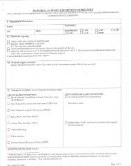 Material Support Exemption Worksheet