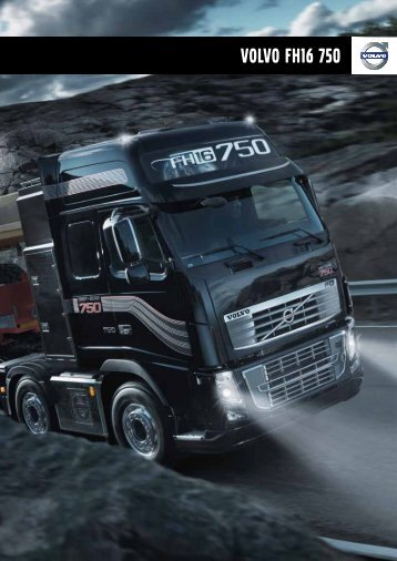 VOLVO FH16 750 - Volvo Trucks