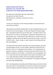 Frau Regierungsrätin Aeppli - Kantonsschule Küsnacht
