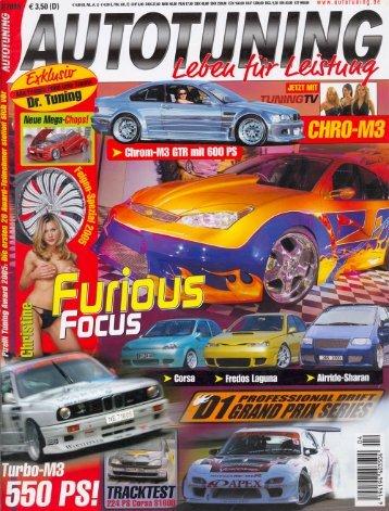 Autotuning No. 4/2005 TRC Toyota Celica ST201 PDF - TRC-Tuning