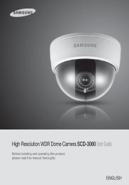 High Resolution Varifocal Dome Camera SCD-3080User Guide ...