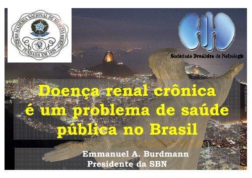 Programa Nacional de Assistência à Doença Renal Crônica - Prof ...
