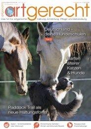 Barfen älterer Katzen & Hunde Paddock Trail als neue ... - Artgerecht