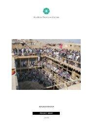 Project Brief on Afghanistan - Aga Khan Development Network