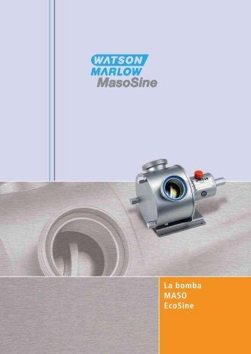 La bomba MASO EcoSine - Watson Marlow