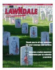Thank you to all our veterans for your courage and ... - Lawndale News