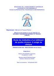 ministere de l' enseignement superieur - Thèses malgaches en ligne