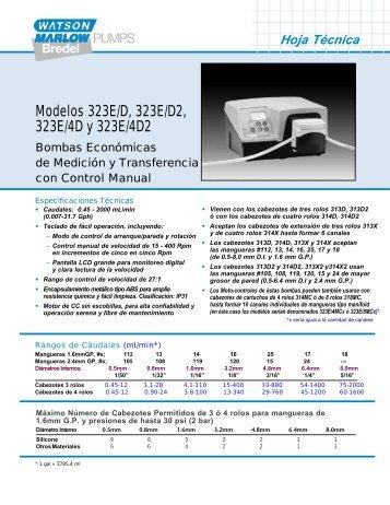 Hoja Técnica - Watson-Marlow GmbH