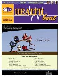 Mar/Apr 2009 - McCrone Healthbeat