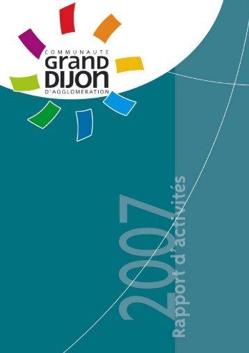 Télécharger le Rapport d'activités du Grand Dijon. - le Grand Dijon