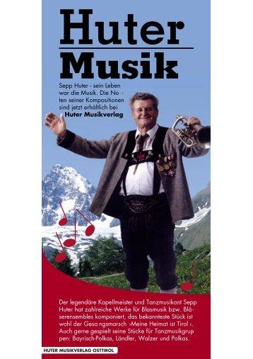 Sepp Huter g sein Leben war die Musik. Die No g ten ... - Kitz.Net