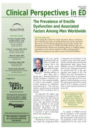 Clinical Perspectives in ED - Pharmacy Times