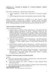 Instrukcja do załącznika nr 2 wniosku beneficjenta ... - wup rzeszow.pl