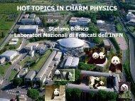 HOT TOPICS IN CHARM PHYSICS - DocDB - Fermilab