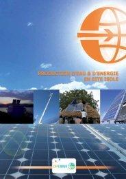 Plaquette site isolé - Cap Energie