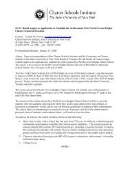 SUNY Board Approves Application to Establish the Achievement ...