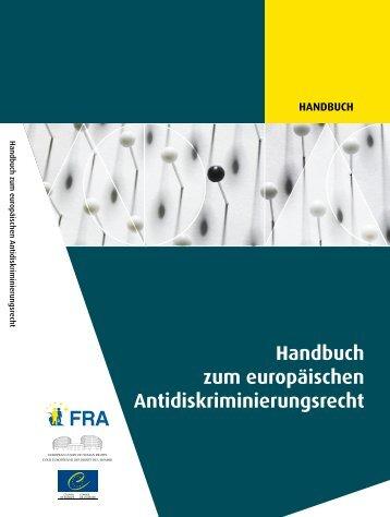 Handbuch zum europäischen Antidiskriminierungsrecht