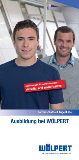 """Flyer """"Ausbildung bei WÖLPERT"""""""