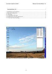 Convision Systems Gmbh Manual Convisionnotice 1.0 - 1 ...