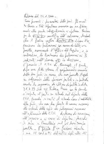 Verbale di udienza: Il C.T.U. Silio Barzagli rinuncia ... - Bruno Falzea