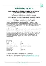 Programmet - Nasjonalt kompetansenettverk for legemidler til barn