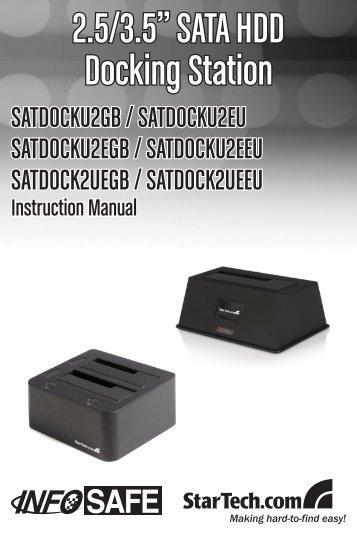 "2.5/3.5"" SATA HDD Docking Station"