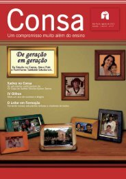 revista consa agosto - Consa - Associação Cultura Franciscana