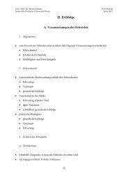 Handout 02.pdf, Seiten 1-17 - Institut für Zivilrecht - Universität Wien