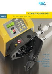 POMPES SERIE 620 - Watson-Marlow GmbH
