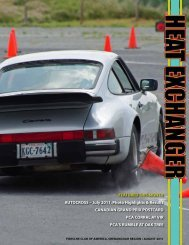 feAtured this month Autocross – July 2011, Photo highlights ...