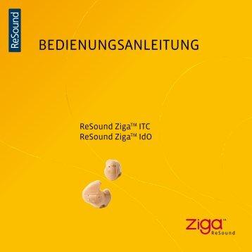 Ziga ZG30/40/50 Benutzerhandbuch - GN ReSound GmbH