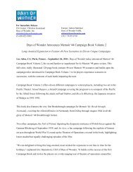 Days of Wonder Announces Memoir '44 Campaign Book Volume 2