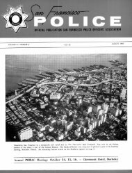 August 1959 - San Francisco Police Officers Association
