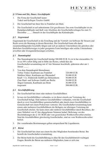 ac&atp gmbh, stat, Einladung