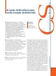 Il ruolo dell'endoscopia nella terapia dell'obesità - Sied