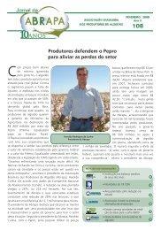 Fevereiro 2009 nº 108 – pdf - Abrapa