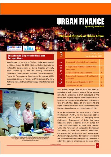 Urban Finance English -12-11-08 - National Institute of Urban Affairs