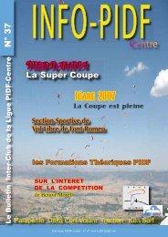InfoLigue 37 V5 final.indd - Ligue Paris Ile de France de Vol Libre ...