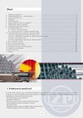 Oceľové bezšvíkové rúry - Železiarne Podbrezová as - Page 2