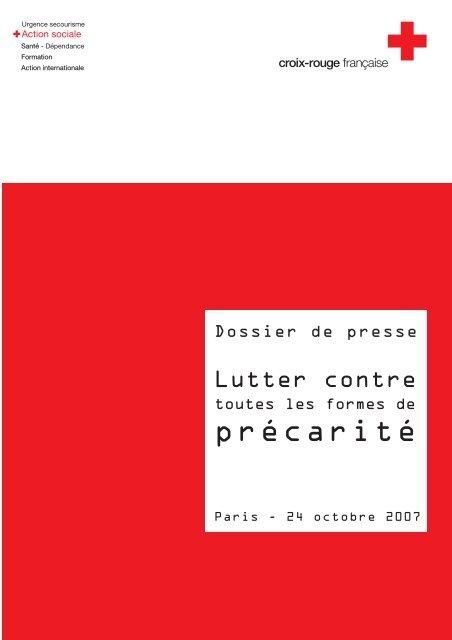 Croix-Rouge française - Lutter contre toutes les précarités
