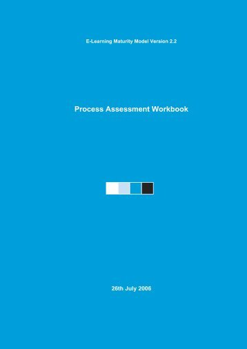 eMM Version Two Assessment Workbook - Centre for Academic ...