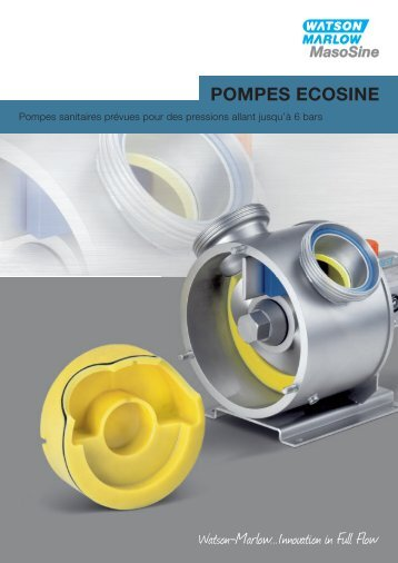 Pompes EcoSine de MasoSine - Watson-Marlow GmbH